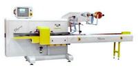 Упаковка в пленку флоу-пак (flow-pack, флоупак) - автоматическая упаковочная линия TLM Sfera для больших объемов упаковки flowpack